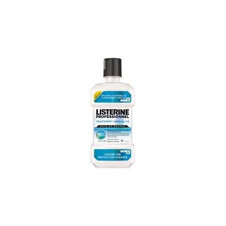 Listerine professionnel traitement sensibilité 500 ml