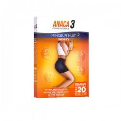 Anaca 3 shorty minceur nuit L-XL