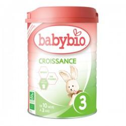 Babybio poudre croissance boite de 900g