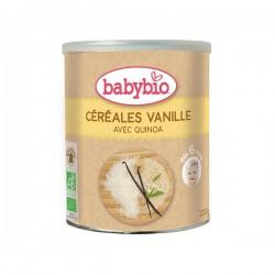 Babybio farine céréales vanille 1er âge 220g