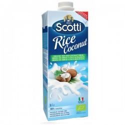 Scotti boisson de riz et noix de coco 1L